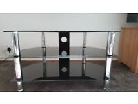 Glass TV Stand 3-tier. Excellent Condition