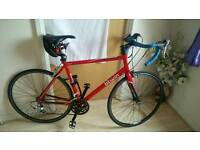 Road racer not a hybrid or mountain bike