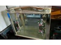 Vintage Retro Glass Display Cabinet