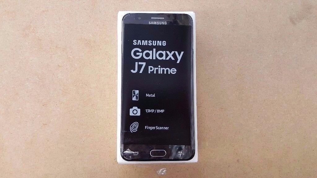 SAMSUNG GALAXY J7 PRIME 32GB UNLOCKED BRAND NEW WITH RECEIPT