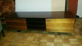 Wooden TV Stand Unit with 2 doors from Currys