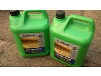Decking Cleaner 2X 5L Cans Ronseal ( NEW)