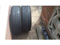 Hankook van tyre