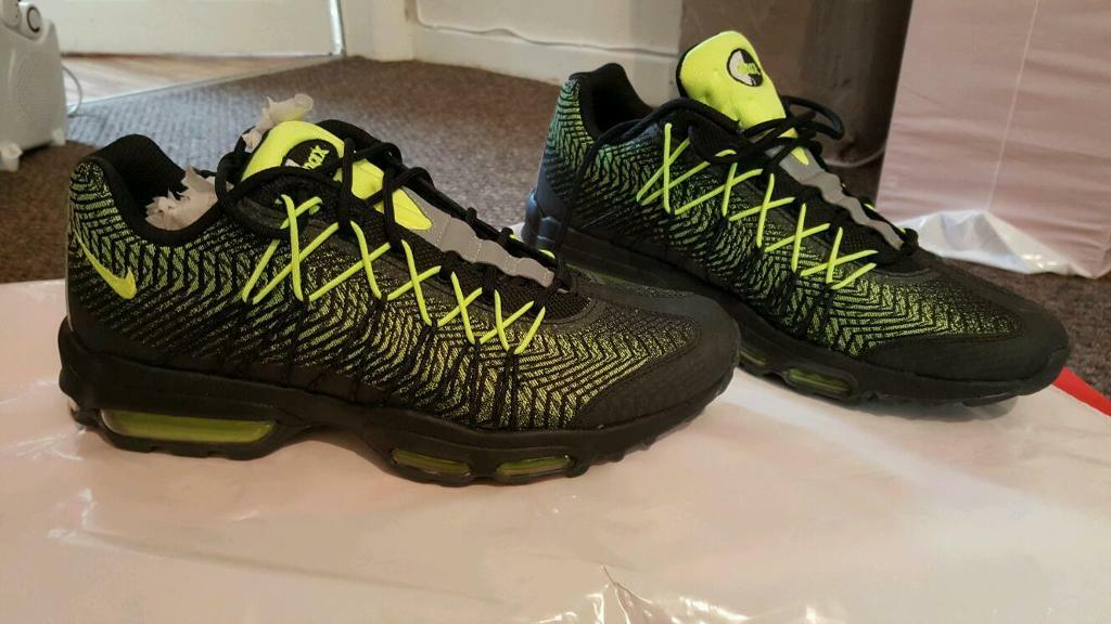 pwpnc Nike Air Max 95 Ultra Jacquard Black/Volt 749771-007 | in Stoke-on