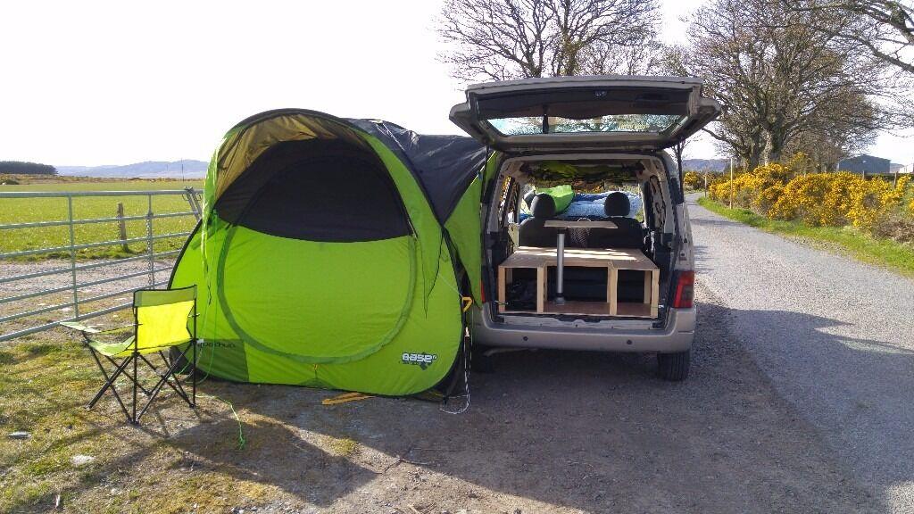 citroen berlingo space camper van microvan wild stealth