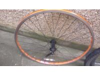 cycle wheel Ritchey rock rims 6061 t6 alloy used, good condition needs cleaning