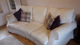 Large Cream Sofa For Sale!