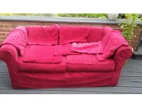Chesterfield style sofa - free