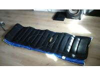 Massage mat with heat pad. free exercise mat.