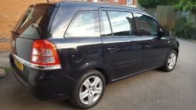 VAUXHALL ZAFIRA EXCLUSIV CDTI, Fuel Economy, Excellent Condition