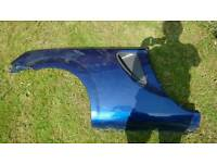Toyota MR2 rear side panel blue