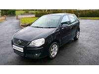 2009 VOLKSWAGEN POLO 1.4 TDI...FULL YEARS MOT...FINANCE THIS CAR FROM £18 PER WEEK...MINT CONDITION.