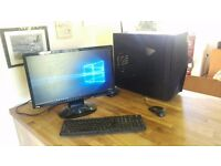 Gaming/Workstation PC, 2TB HDD, 16GB RAM, Nvidia GTX560, Intel i7 2600k 3.4GHZ, Win 10, 21.5''