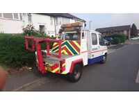 Ford transit recovery truck spec lift 61k crew cab 5 speed