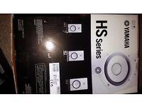 Yamaha HS7 Studio Monitors (Pair) New in Original Box