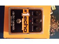 Electro Harmonix digital delay No1 echo