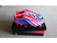 Adidas Adizero F50 TRX FG Synthetic Messi Turbo-Blast/Purple/White 11 (New)
