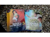 BTEC Level 3 Health & Social Care. Books 1 & 2