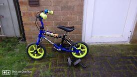 "Kids 12"" bike (suitable for 3-5 yrs)"