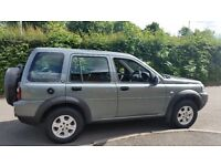 Landrover freelander 2005 S TD4 Diesel Estate 12 month MOT reliable good condition tow bar