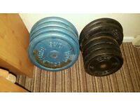 90 kgs in cast iron weights