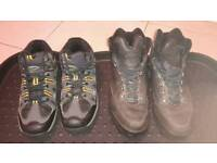 Walking Boots. Size 6 and 7