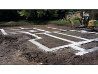 Groundworkers specialising in steel and concrete,lanscaping and garden clearances