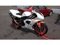 Yamaha R1 2002 ( 5pw ) Track bike , low mileage, only 10k miles with V5 and HPI clear