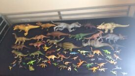 68 toy dinosaurs