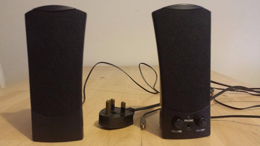 speakers argos. pair of computer speakers argos model no s820-010 \u2013 used