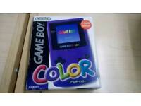 Gameboy color boxed