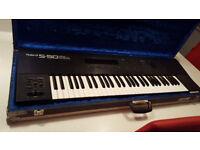 Roland S50 Keyboard Sampler with Hard Case