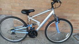Apollo FS 26 full suspension bike.