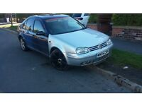 vw bora 1.9tdi highline 130 bhp with golf front end running project needs painting
