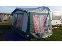 Dorema Sirocco size 7 full size caravan awning (800 - 825cm)