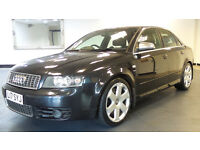 2004 AUDI A4 4.2 S4 QUATTRO 4d 339 BHP *PART EX WELCOME*24 HOUR INSURANCE*WARRANTY*
