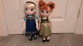 Disney Animation Frozen dolls