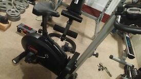 York-2-in-1-Exercise-Cycle-Rower-Dual-Features-Magnetic-Resistance-Gym-Fitness