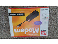 ZOOM V.92 56K USB DONGLE MODEM in a very good condition + GRATIS!!!