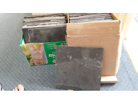 Grey Slate Tiles- 6 new - 31 lifted from floor -