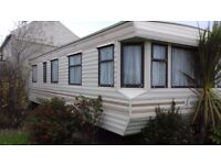 WILLERBY GRANADA 28X12 STATIC VAN. TO BE SOLD OFF SITE.