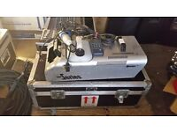 ANTARI Z-1500 FOG MACHINE PRO FOG GENERATOR WITH REMOTE CONTROL AND FLIGHT CASE