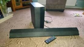 Sony sound bar and sub
