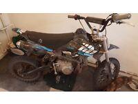 110cc welsh pitbike