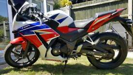 Cbr300 2015 ready to go with mot