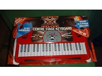 X Factor keyboard, BNIB record and play back function, sound effects etc