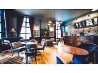 Bar and floor staff required for busy Kentish Town gastro pub