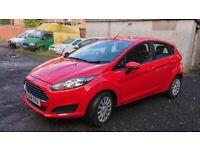 Ford, FIESTA, Hatchback, 2014, Manual, 1241 (cc), 5 doors