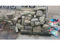 Collection of garden stone for sale