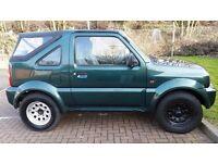 2002 Suzuki Jimny 1.3 JLX 3dr Automatic HPI Clear Low Mileage @07445775115@